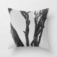 Now You See The Tree Throw Pillow