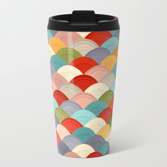 yarn hill dollops summer Metal Travel Mug