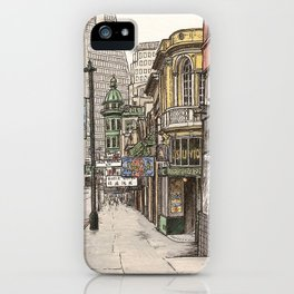 North Beach, SF iPhone Case