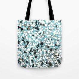 Terrazzo of 80's blue Tote Bag