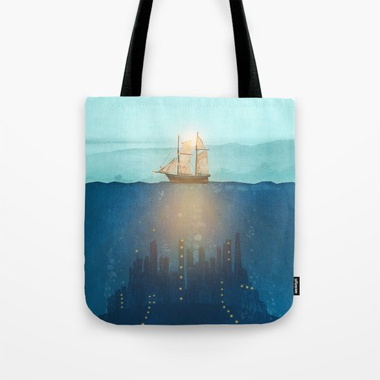 The Underwater City Tote Bag
