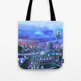 flowtopia Tote Bag