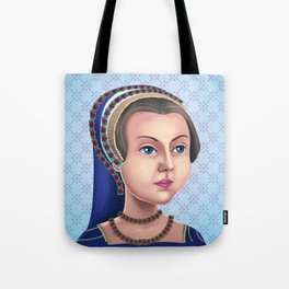 Lady Jane Grey, Queen for a day Tote Bag