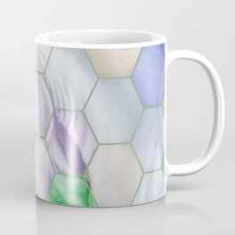 Rainbow Lusitano Mosaic Tiled Art Coffee Mug