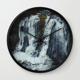 Upper McCord Creek Falls Wall Clock