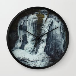 Upper McCord Creek Falls Wall Clock