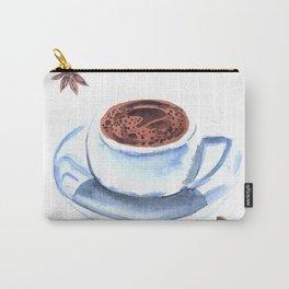 Americano Café Watercolor Carry-All Pouch