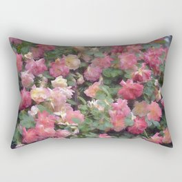 Rose 356 Rectangular Pillow
