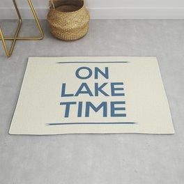On Lake Time Rug