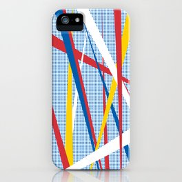 STRIPE w/white iPhone Case