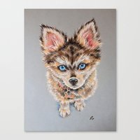 nemo Canvas Prints featuring Nemo by Deppyjo