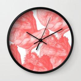 Pluto and Virgil Wall Clock