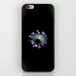 Cactus Flower in the Dark iPhone Skin