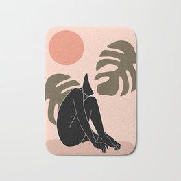 black nude 3 Bath Mat