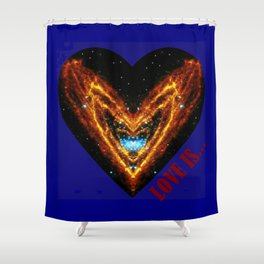 Love Is... Shower Curtain