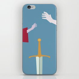 The Sword in the Stone - Movie Poster - Penguin Book version iPhone Skin