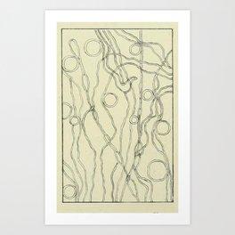 Cerebrum Tubes Art Print