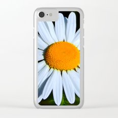 Wild Daisy Overflowing with Pollen Clear iPhone Case