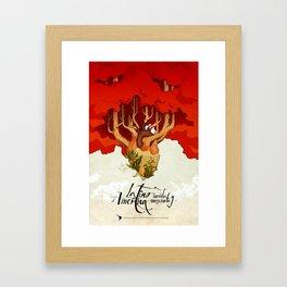 Latinoamérica Framed Art Print