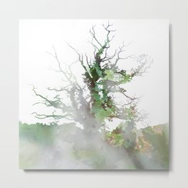 Where the sea sings to the trees - 1 Metal Print