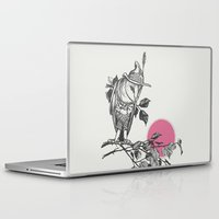 monster hunter Laptop & iPad Skins featuring Hunter by Zeke Tucker
