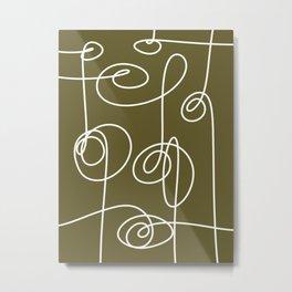 Loops & Knots Metal Print
