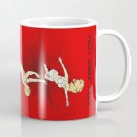 rocky horror Mugs featuring Rocky Horror Story by DiHA