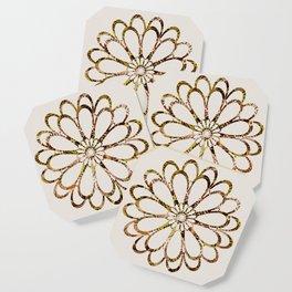 Floral Design Ornament Coaster