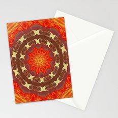 Sun Mandala Stationery Cards