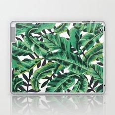 Tropical Glam Banana Leaf Print Laptop & iPad Skin