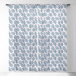Evil Eye Teardrop Sheer Curtain