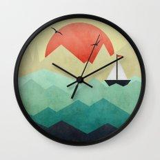 Ocean Adventure Wall Clock