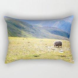 Sheep in the Mountains Rectangular Pillow