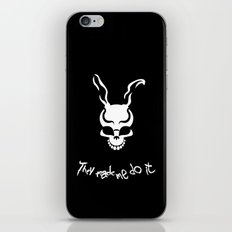 They Made Me Do It. iPhone & iPod Skin