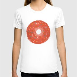 donut with sprinkles T-shirt