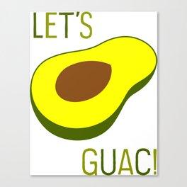 Let's Guac! Canvas Print