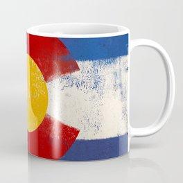 Colorado Flag Denver Coffee Mug