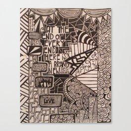 No.4 Canvas Print