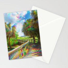 Trippy Walkway Stationery Cards