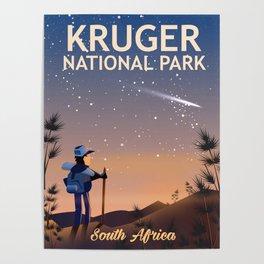 Kruger National Park, south Africa, Poster