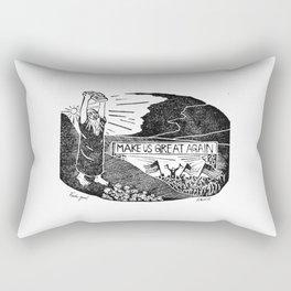 Fake God Rectangular Pillow