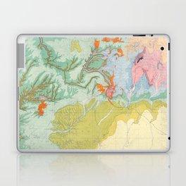 Southwest Map - Pastel Laptop & iPad Skin