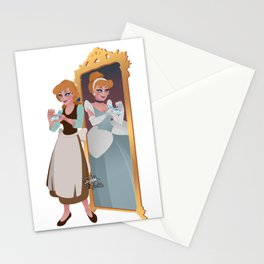 Cinderella - Peasant Servant Dress Stationery Cards