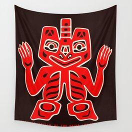 Haida Indians Alaska Blanket Design Wall Tapestry
