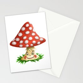 Happy Fly Agaric Stationery Cards