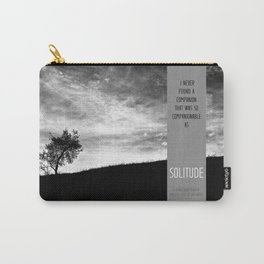 Henry David Thoreau - Solitude Carry-All Pouch