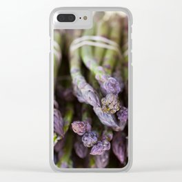 Asparagus Clear iPhone Case