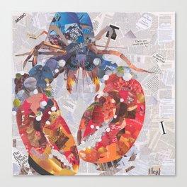 lucky lobster Canvas Print