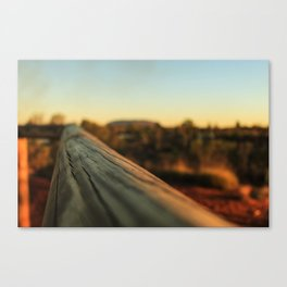 Straight ahead Canvas Print