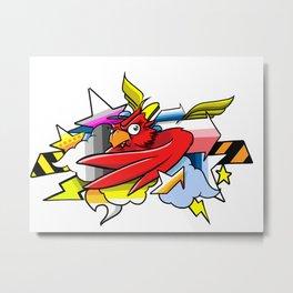 darts cardinal Metal Print